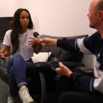 Interview mit Luna Simao bei TV Total